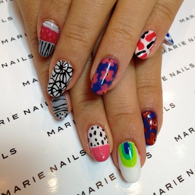 Los angeles nail art images nail art and nail design ideas top 5 los angeles nail salons for nail art los angeles nail art marienails prinsesfo images prinsesfo Images