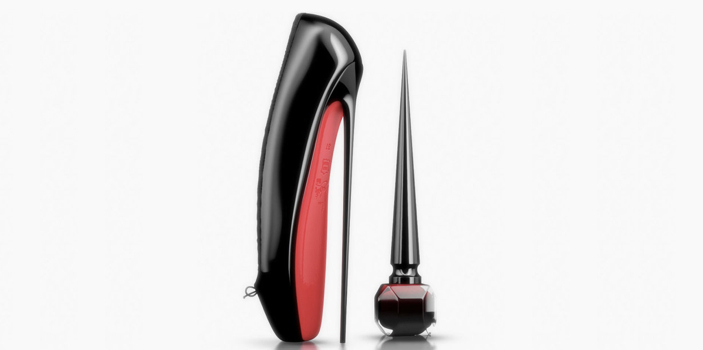 Christian Louboutin nail polish commercial