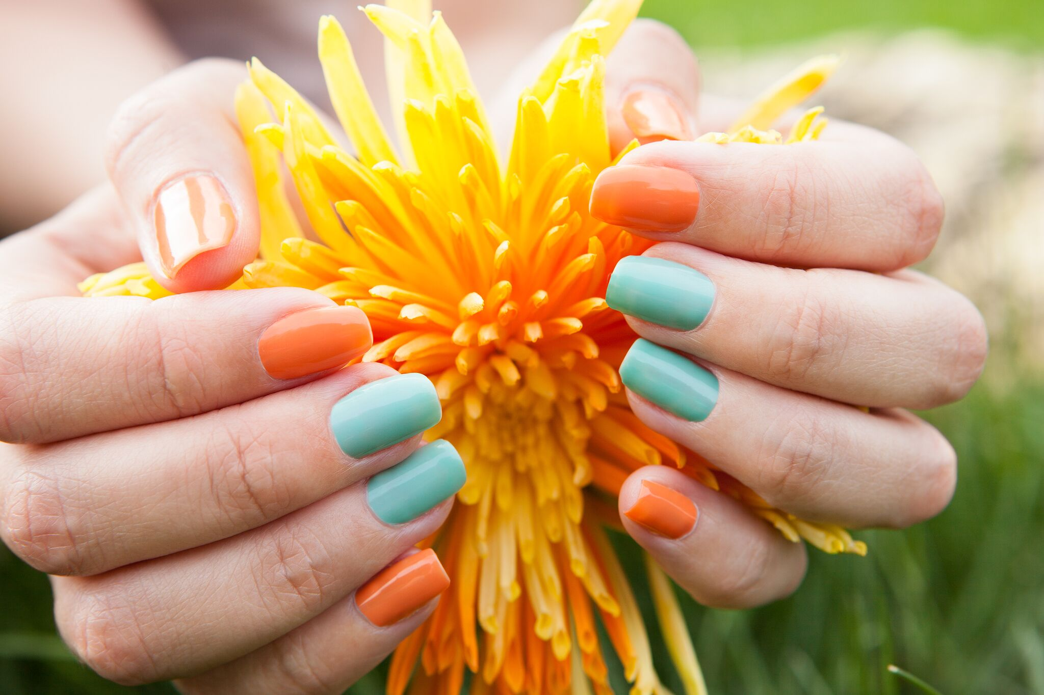 Pinterest Roundup: End of Summer Manis